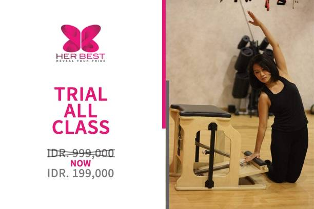 Trial All Class only for Rp.199.000